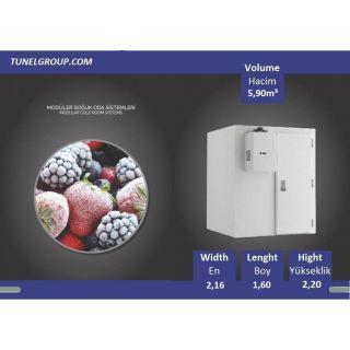 Soğuk Hava Deposu - Cold Storage (-5 / +5°C) 5,90m³