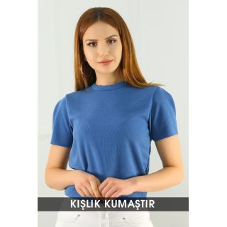 Crop Bluz İndigo - 8068.1230.