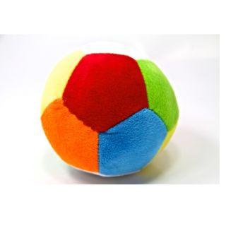 Peluş Çıngıraklı Top - 12 cm - Bebek Topu