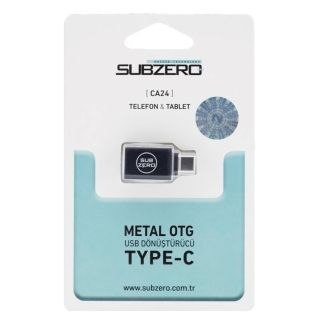 (TYPE-C) Metal Otg Subzero CA24