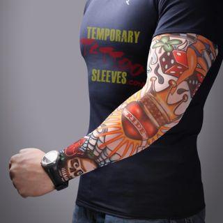 Giyilen Dövme Tatto Sleeves