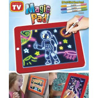 Magic Pad Çizim Panosu Led Işıklı