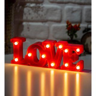 Led Işıklı Love Gece Lambası