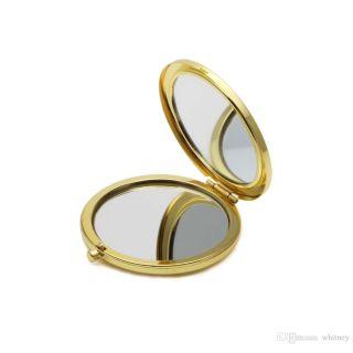 Promosyon Cep Aynası (Gold Renk)