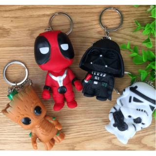 Guardians of the Galaxy ve Starwars Anahtarlıklar