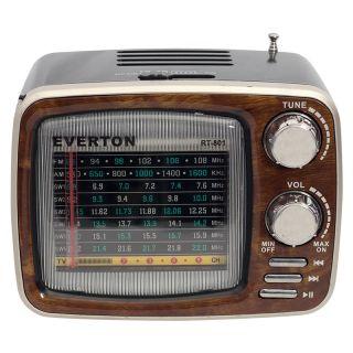 Everton RT-801BT USB-SD-FM-Bluetooth Destekli Nostaljik Radyo