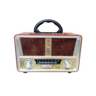 Meier M-112BT USB/SD/MP3/Bluetooth Şarjlı Nostaljik Radyo