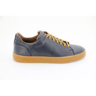 KOŞAK Analin Gerçek Deri Lacivert Sneaker Ayakkabı
