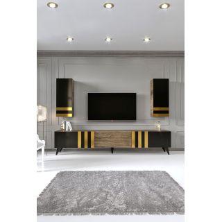 Modetta Home -  Black Gold Tv Ünitesi
