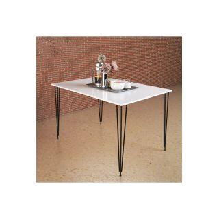 Theia Tasarım Tek Masa Beyaz 130x70cm