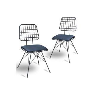 Theia Tasarım Lotus Sandalye 2li Set