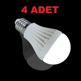 7W Enerji Tasarruflu Led Ampul ( 4 Adet )