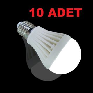 7W Enerji Tasarruflu Led Ampul ( 10 Adet )
