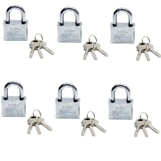 Akıllı Anahtarlı Asma Kilit 6lı Set