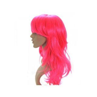 Uzun Peruk Saç - Pembe