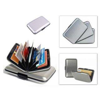 Metal Kredi Kartlık - Gri