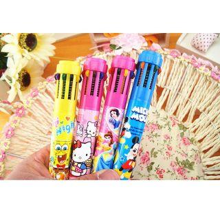8 Renkli Basmatik Fosforlu Kalem