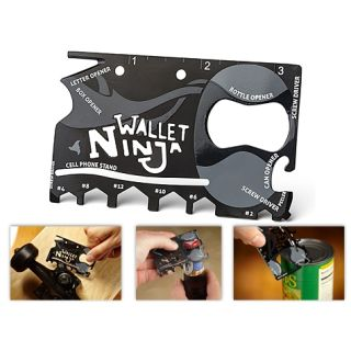 Ninja Wallet 18 in 1 Multi Tool Kit