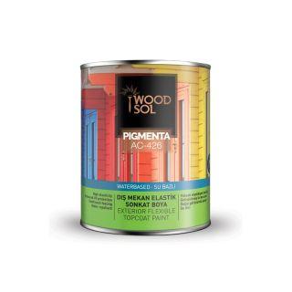Woodsol Pigmenta Elastik Sonkat Ahşap Boyası 0.75 Litre (6305 VERDE SCURO)